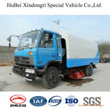 6cbm Dongfeng Вакуумный очиститель для уборки дорог Euro4