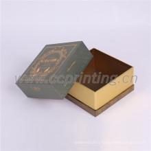 Papier de haute qualité petites boîtes en carton carrées en gros