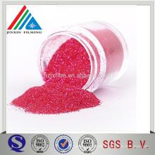 Ausgezeichnete Farbe equlity Polyster Red Glitter Powder für Dekoration