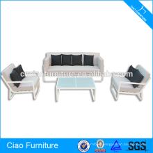 Outside Furniture New Style Aluminum Frame Sofa