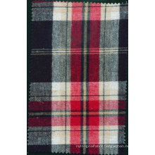 100% Cotton Flannel fabric for Men's Shirt