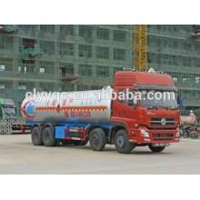 Dongfeng Tianlong lpg loading tanker 38CBM 8x4 diesel lpg vehicle price
