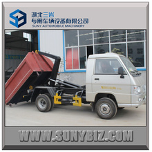 2t 3t Forland Mini Container Hook Arm Garbage Truck