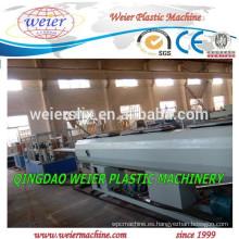 Máquina de la pipa de la línea de producción del PVC de PVC drenaje tubo