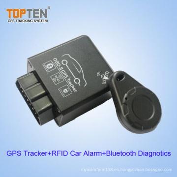 OBD2 GSM perseguidor sin hilos del GPS con los diagnósticos de RFID y de Bluetooth (TK228-WL)