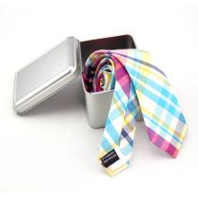 Caja de regalo de lazo de seda de los hombres del diseño elegante de la venta caliente