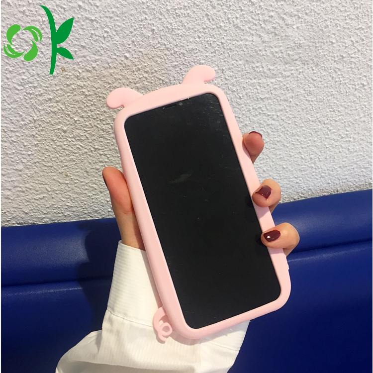 pig silicone phone case