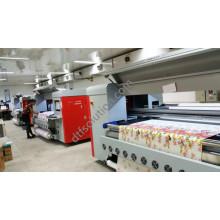 Imprimante textile Fd-Xc01 avec encre pigmentaire et solution d'encre réactive