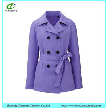 Popular style!!! high quality fashion women trench coat