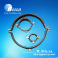 Zinc Plated Pipe Clamps With Rubber Suppliers