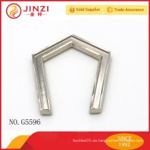 Directo de la fábrica Modifique el marco para requisitos particulares del metal del bolso de embrague de la alta calidad de JINZI