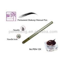 Cross-shape Needle Hole Makeup Tattoo Manual Pen