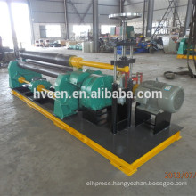3 roller ms plate mechanical bending machine 30*2000/bending plate machine