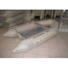 Piso de ripas da série M, piso de madeira compensada, barco inflável de piso de alumínio