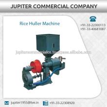 Mejor calidad Rice Huller máquina disponible a bajo precio de mercado