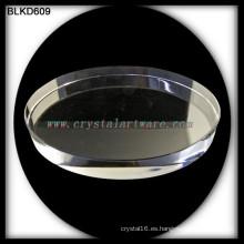 K9 cristal blanco de alta calidad de grabado del laser