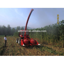 silage maize harvester used with tractor