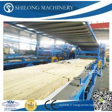 CE Approuvé EPS Sandwich Panel Board Roll formant la ligne de production de la machine