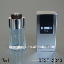 Bouteille de marques de parfum français 10ml mini verre carré