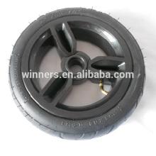 "255x60mm pneumatic plastic kids stroller wheel 10"""