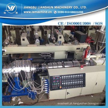 Economia de energia UPVC / CPVC / Linha de extrusão de produção de tubos de plástico de PVC / Máquina de fabricação de tubos