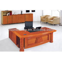 manager office table design, front office desk, wooden office furniture