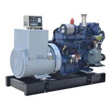Heater Exchange 120kw 163hp Chinese Emergency Marine Diesel Generator Powered Weichai Engine WP6CD132E200 For Vessel