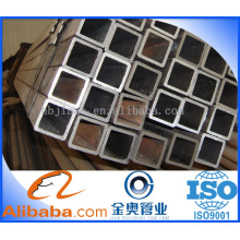 Best quality Q345 square seamless steel pipe price