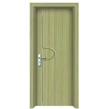 puerta interior del PVC