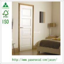 Porte de la pièce intérieure / porte en bois blanche