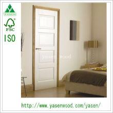 Porta interior da sala / porta de madeira branca