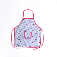 различные принты художника халата дети хлопка приготовления фартук