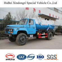 6cbm Sewage Suction Truck Dong Feng Brand