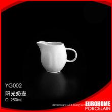 wholesale fine porcelain discount china elegant restaurant milk jug