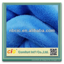 100% poliéster para cobertor tecido grosso de lã tecido