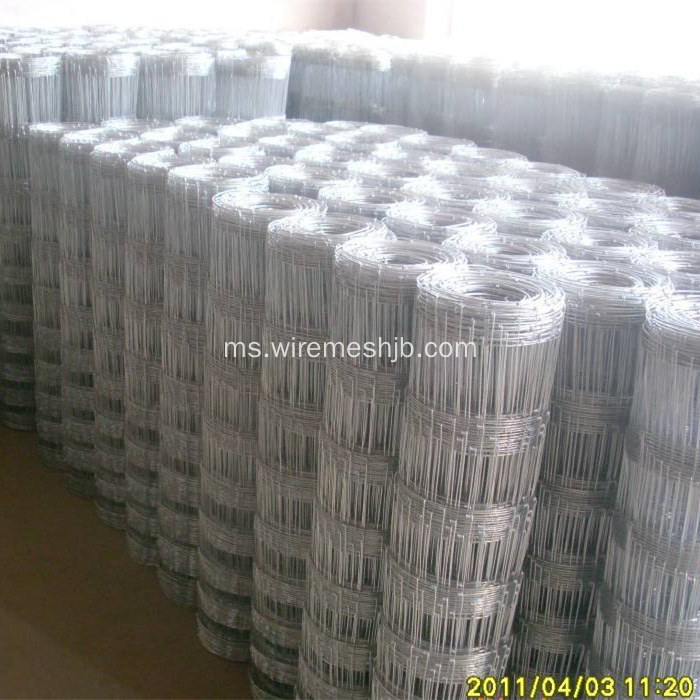 Pagar Ladang Galvanized Field Hot Dipped
