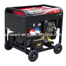 Conjunto de gerador a diesel de dois cilindros (DG12000E)