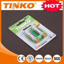 NI-MH rechargeable battery Size AA 1800MAH 1.2v