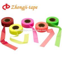 colorful pvc warning flagging tape