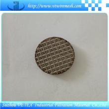 Disque filtrant fritté en acier inoxydable