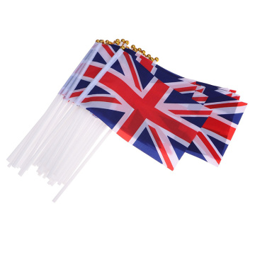 Kostenlose Probe Polyester England National Hand Waving Flag