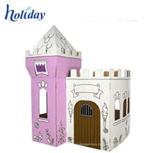 цветастое печатание картона для детей игровой домик мебель