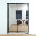 Tela de cortina de puerta de red magnética de diseño DIY