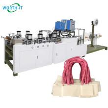 Hot-melt glue paper bag handle pasting machine kraft paper handle making machine