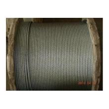 Rop de alambre de acero galvanizado 6 * 12 + 7FC hecho en China