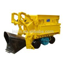cargador de roca minera / máquina de extracción de túnel / cargador de roca de muck con aprobación CE