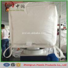Bolsas personalizadas de fibc de polipropileno 1 tonelada 1,5 toneladas para grano, azúcar, arroz, sal, trigo, maíz, etc.