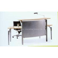Top Quality Competitive Price Cheap Small Reception Desk (LT-E403)