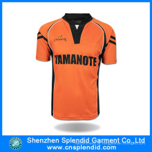 China Sports Apparel Fabricante Futebol Futebol Camisas de futebol em massa