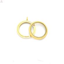 30мм круглая матовая цвет твист винт из нержавеющей стали плавающие подвески медальоны оптовая продажа,дизайн золотой медальон